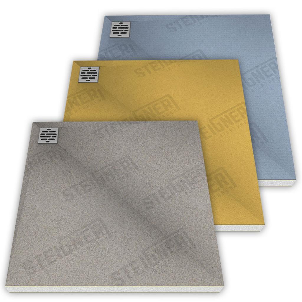 Barrier-free shower trays - Steigner