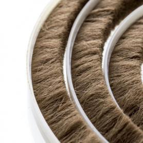 Brush seal 11-12 mm brown