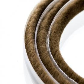 Brush seal 5-6 mm brown