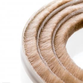 Brush seal 7-8 mm beige