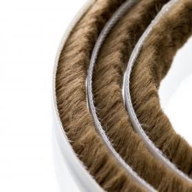 Brush seal 7-8 mm brown