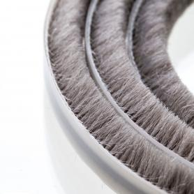 Brush seal 7-8 mm grey