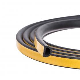 Cellular rubber seal SD-112 black