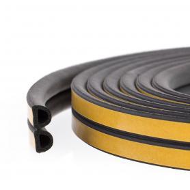 Cellular rubber seal SD-55 black