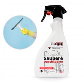 Shower cabin cleaner