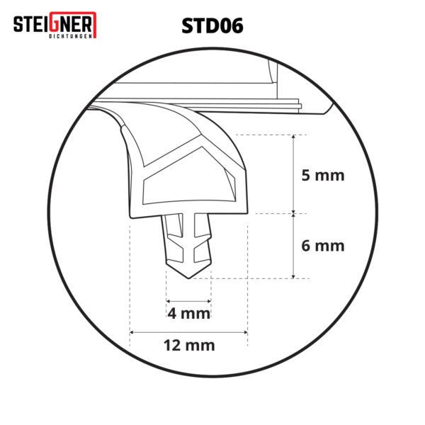 Door And Window Seal STD06 Steigner Technical Nr2