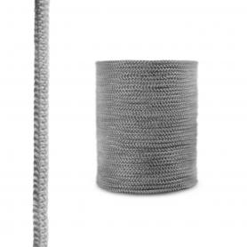 Fireplace fiberglass rope seal SKD02 12 mm dark grey