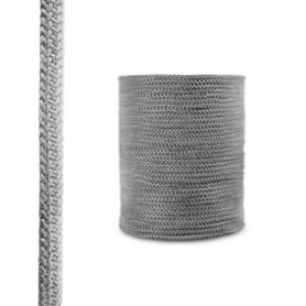 Fireplace fiberglass rope seal SKD02 14 mm dark grey