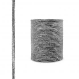 Fireplace fiberglass rope seal SKD02 6 mm dark grey