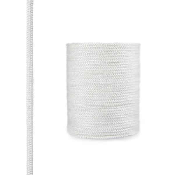 fireplace fiberglass rope seal skd02 6 mm white steigner