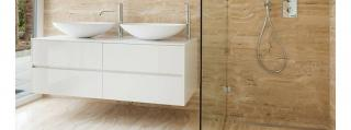 Barrier-free shower tray- a recipe for a modern looking bathroom